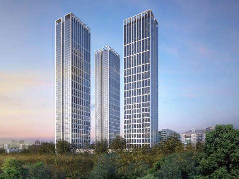 ЖК «Небо» — небоскребы на Мичуринском! Квартиры от 8,5 млн рублей.
